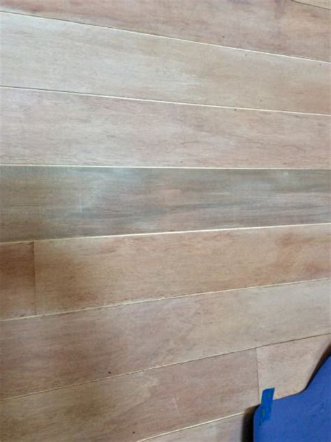 Shiplap Wood Paneling Faux Shiplap Wall Tutorial Stuff For Our Homes
