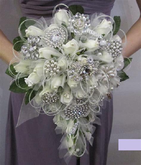 Wedding Bouquet Teardrop by Teardrop Vintage Brooch Bouquet Wedding Shoes By Perdita S
