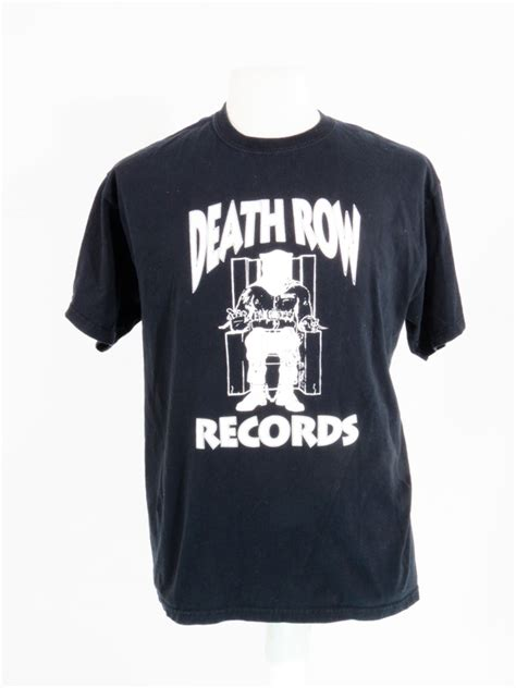 Row Records Windbreaker Row Records Replica Black T Shirt 5 Vintage