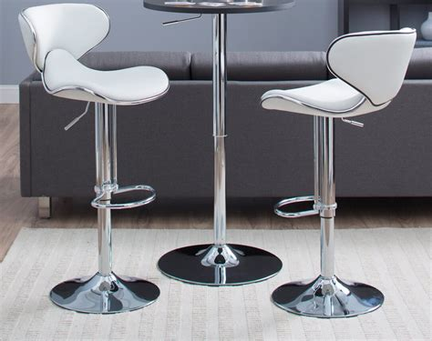 Bar Stools Modern Leather by 6way White Modern Leather Stools Jpg