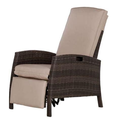 reclining wicker furniture wicker recliner outdoor chair impressive outdoor