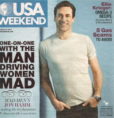 magazine usa jon hamm images jon hamm usa weekend magazine hd