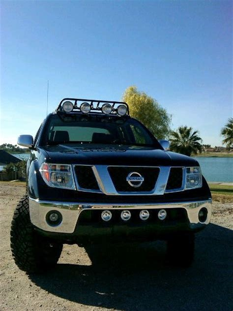 nissan frontier bull bar with lights other ways to mount 4 driving lights nissan frontier forum