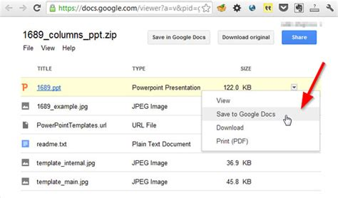 powerpoint templates for google docs how to open powerpoint templates in a zip using google