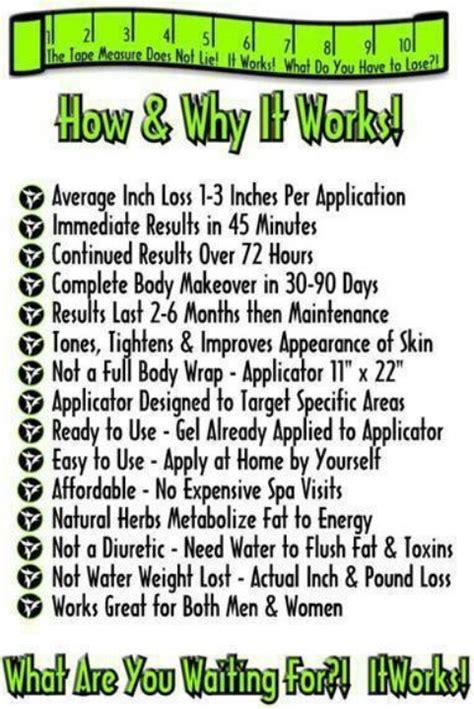 Detox Wrap Do They Really Work by 87 Best Images About It Works On New You