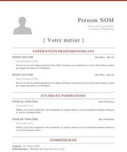types of resumes sles modele cv 5
