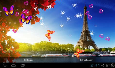 free download mobile wallpaper hd top android live wallpapers pack free 3d eiffel tower live wallpaper apk download for