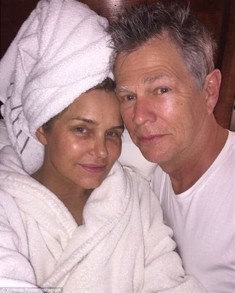 yolanda wife yolanda foster acts as nurse to help sunburned husband