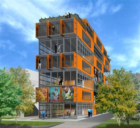 Lake Home Plans Narrow Lot shipping container architecture