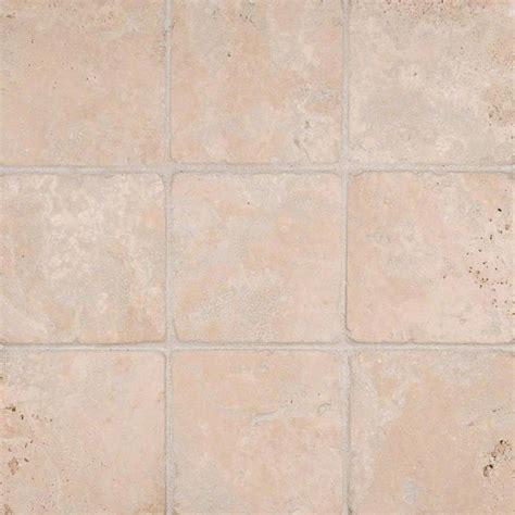 durango cream 4x4 tumbled tile wall tile stone backsplash