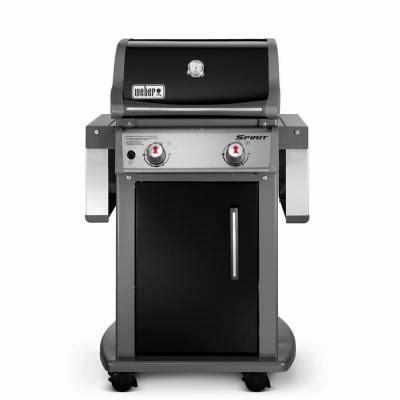 Weber Grills Home Depot by Weber Spirit E 210 2 Burner Propane Gas Grill 46110001