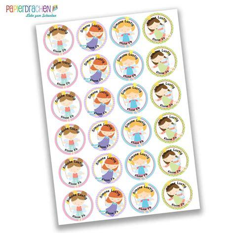 Sticker Schule Namensetiketten by 24 Individuelle Sticker Schule Mit Fee Motiv F 252 R M 228 Dchen