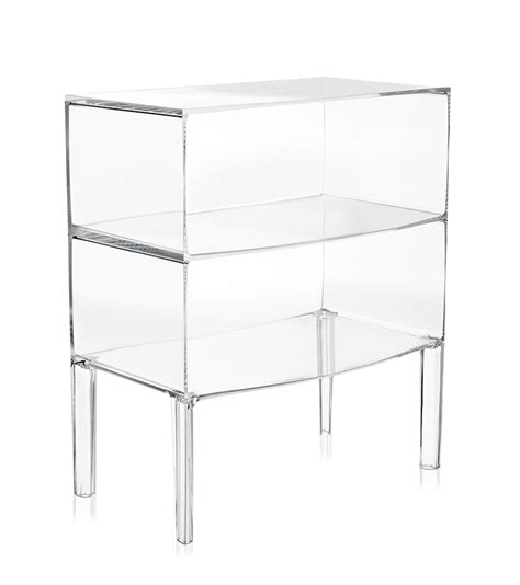 Commode Kartell by Kartell Commode Ghost Buster Cristal Pmma Transparent