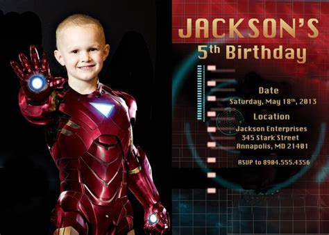 printable iron man invitations 51 best images about avengers invitations on pinterest
