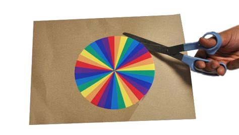 How To Make A Paper Wheel That Spins - how to make a paper wheel that spins 28 images a