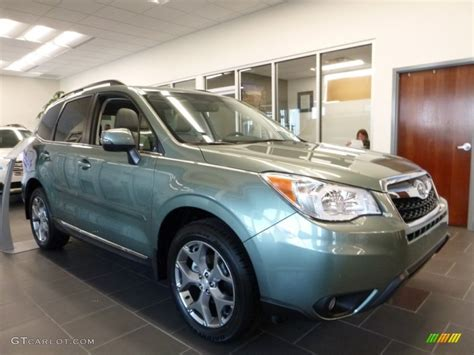 green subaru forester 2016 2016 green metallic subaru forester 2 5i touring