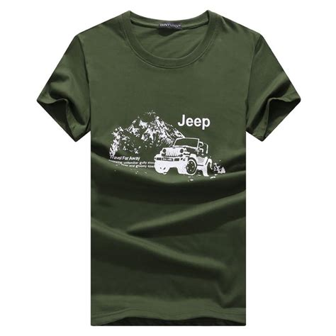 Tshirtt Shirtkaos Only In A Jeep kaos katun pria jeep o neck size l army green jakartanotebook