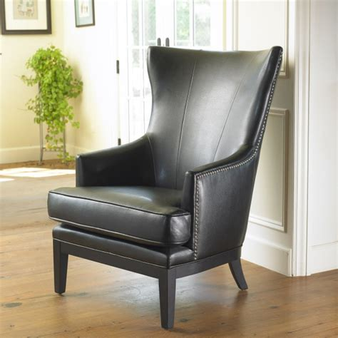contemporary wingback chair contemporary bonded leather wingback chair mission hills
