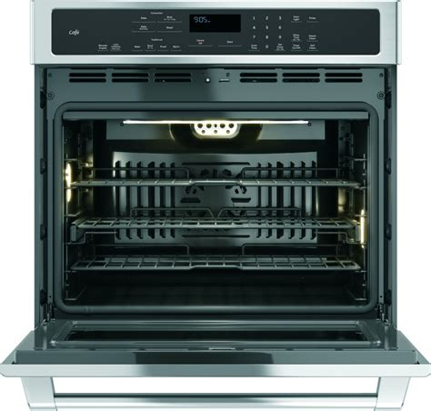 ge cafe kitchen appliances ct9050shss ge cafe series 30 quot built in single convection