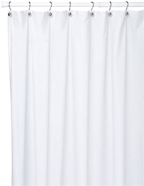 extra long vinyl shower curtain extra long 10 gauge vinyl shower curtain liner white
