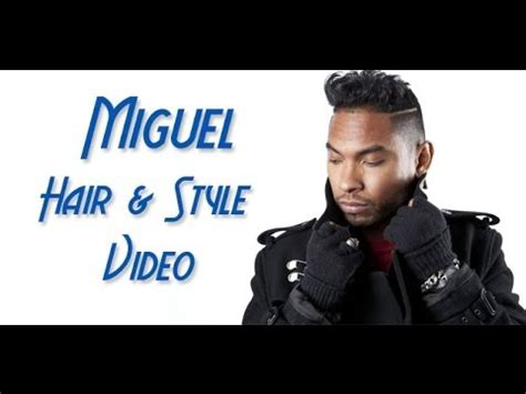 how to do miguels hair cut how to do your hair like miguel youtube
