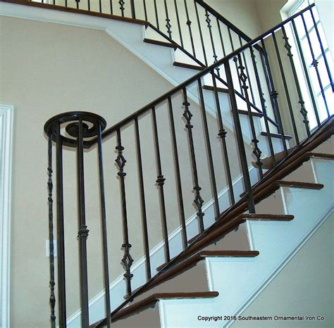 wrought iron stair railing stair railing southeastern ornamental iron works
