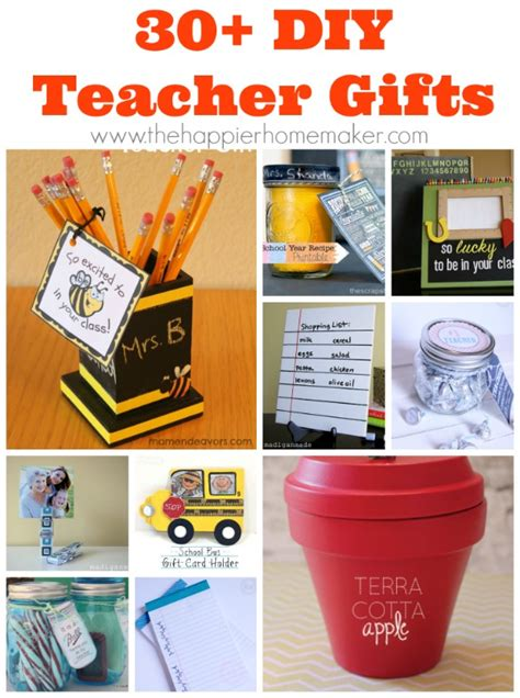 30 diy teacher gifts the happier homemaker