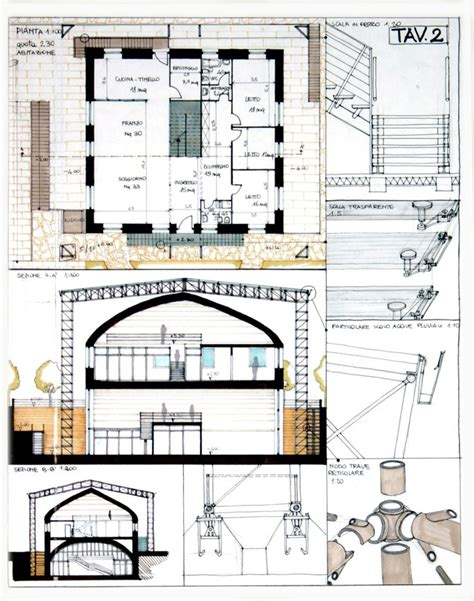 tavole esame di stato architettura schemi esame di stato architetti