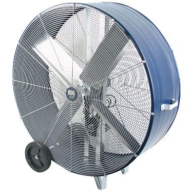 large commercial exhaust fans big air 42 quot industrial drum fan sam s club