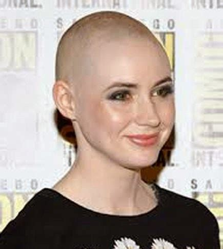 bald women haircuts indifferent shaved hairstyles for women