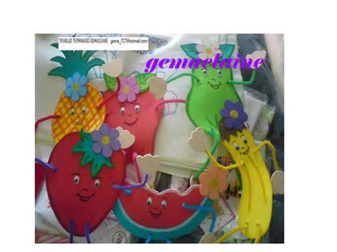 sombrero de frutas de foamy frutas en foami