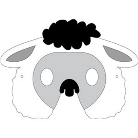 new year sheep mask template 1000 ideas about sheep mask on farm animal