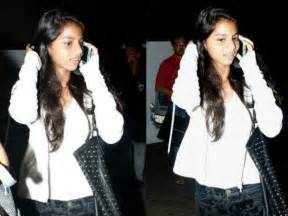 Spotted: Shah Rukh Khan's daughter Suhana with her friend ...