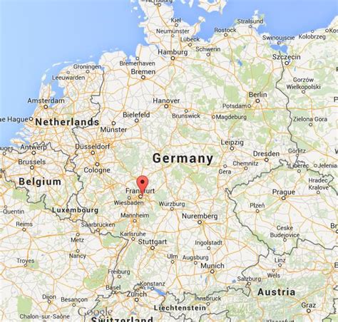 on map where is offenbach on map germany world easy guides