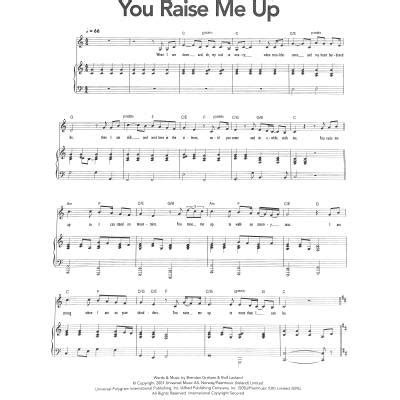 Hochzeit You Raise Me Up by You Raise Me Up Groban Josh Ch77737
