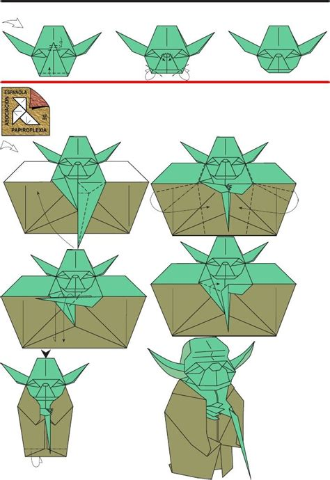 Starwars Origami - wars origami directions pictures to pin on