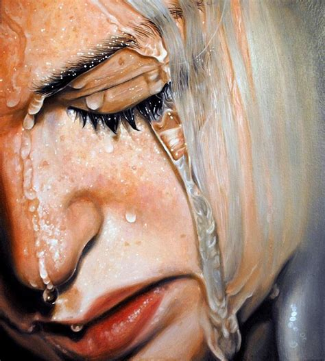 real painting linnea strid realistic paintings feather of me
