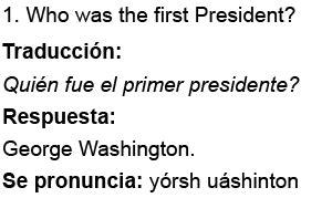 preguntas personales ciudadania americana las preguntas de la nueva entrevista de ciudadania en espanol