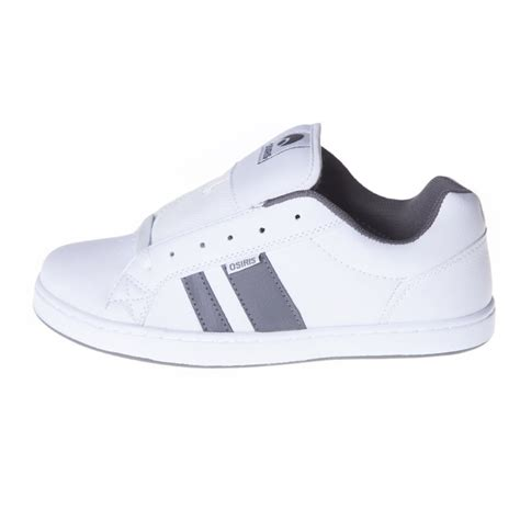 osiris shoes mens loot white grey wh buy