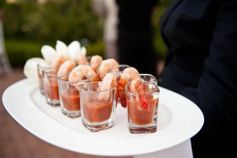 cocktail suggestions cocktail hour ideas wedding appetizers guests will