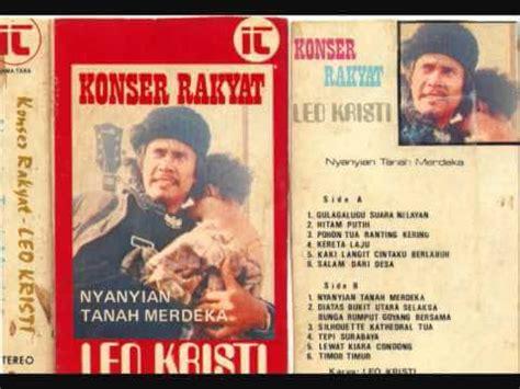 Kaset Leo Kristi Nyanyian Rakyat Album Nyanyian Malam leo kristi dan perjalanan hidup saya simply minimalist