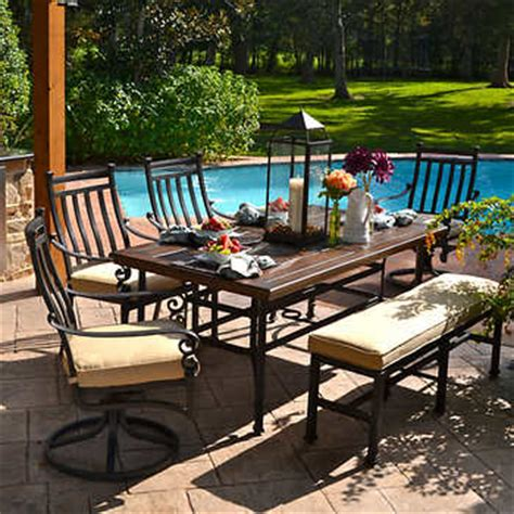Veranda Classics Patio Furniture Veranda Classics Meridian 6 Dining Set