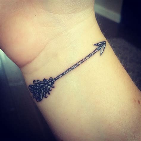 arrow tattoo on wrist meaning 253 best images about tattoo on pinterest feathers