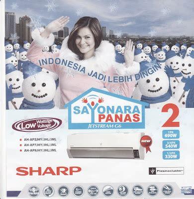 Ac Sharp Sayonara Panas Terbaru sharp spesifikasi ac sharp