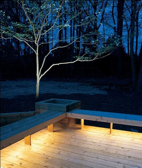 under deck lighting ideas deck bench planter designs woodworking projects plans