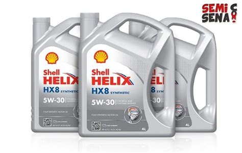 100 Kualitas Terbaik Oli Shell Hx7 Sae 10w 40 Galon 4 Liter 8 oli mobil terbaik di indonesia semisena