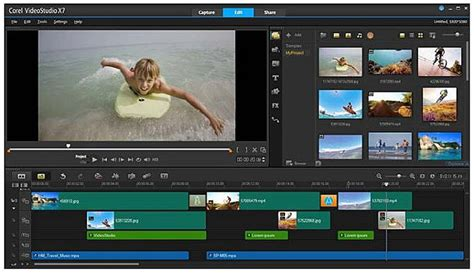 A Review Of Corel S Videostudio Ultimate X7 With Exles Corel Fastflick Templates