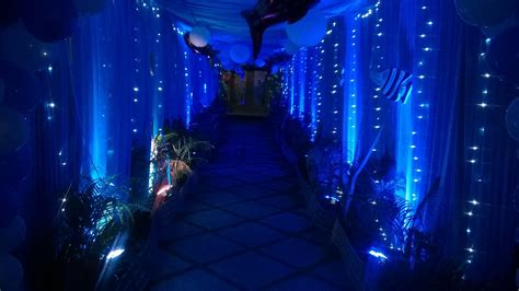 underwater themed decorations nemo water theme warangal shobha s entertainments