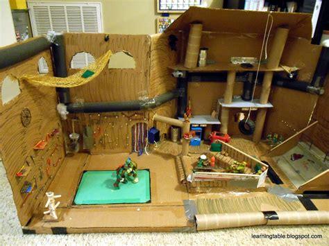 teenage mutant ninja turtles table and diy teenage mutant ninja turtles secret sewer lair update