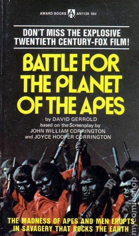 battle for books battle for the planet of the apes pb 1973 novel comic books